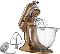 KitchenAid Artisan Design 5-Quart Stand Mixer, Antique Copper: covet!!!