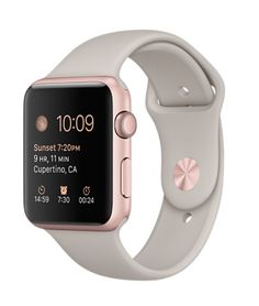 Buy Apple Watch Sport Rose Gold aluminum case with stone sport band. Order … – [pin_pinter_full_name] Buy Apple Watch Sport Rose Gold aluminum case with stone sport band. Buy Apple Watch, Rose Gold Apple Watch, Apple Watch Series 3, Apple Watch Bands, Rose Watch, Apple Band, Grey Watch, Sport Watches, Cool Watches