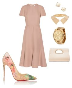 """""""Untitled #252"""" by mayra-sonsire-ramos-jimenez on Polyvore featuring Kate Spade, Valentino, Christian Louboutin, Maiyet, Forever New and Michael Kors"""