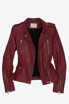 Tj would kill me if I got another leather jacket... but I don't have one in this color ; )