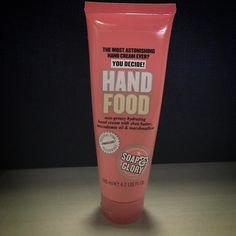 My beauty workhorse #Soap&Glory ##HandFood #HandCream #Beauty #Skincare #Pink #NoFilter