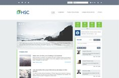 HSC Jobs Intranet Design