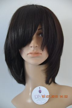 Get the gorgeous and sleek bob style look wearing this versatile and modern wig by DIVYA™. This wig can be worn with a fringe or side swift. You can also cut it into a pixie boy cut wig for a change of style.