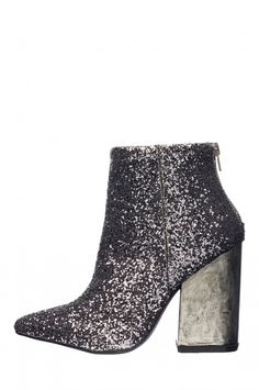 Jeffrey Campbell Truly-MH Glitter Bootie