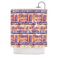 "Louise Machado ""Tribal"" Shower Curtain | KESS InHouse"