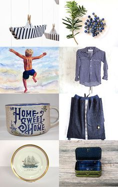 My plate made it to the Front page of Etsy!!  --Pinned with TreasuryPin.com