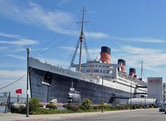 Stay in the haunted hotel Queen Mary ship.  My Dad went to Germany on this during WW II.