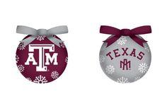 Texas A&M Aggies LED Box Set Ornaments