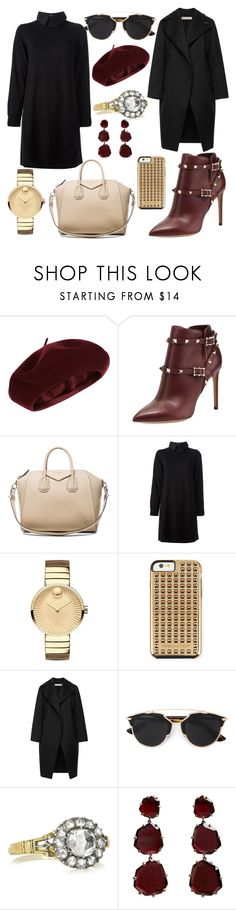 """Untitled #1028"" by eeecce ❤ liked on Polyvore featuring Accessorize, Valentino, Givenchy, Sacai Luck, Movado, Rebecca Minkoff, Marni, Christian Dior, Annoushka and women's clothing"