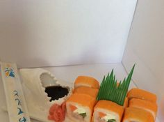 Shark  Seafood sushi plate 3d printed