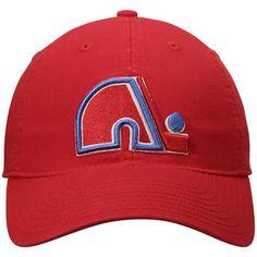 Quebec Nordiques CCM Adjustable Slouch Hat- Red