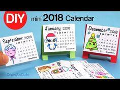 How to Make a 2018 Calendar | Easy DIY Fun Craft - YouTube