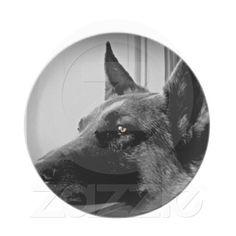 German Shepherd Plate