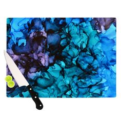 """Claire Day """"Lucid Dream"""" Cutting Board from KESS InHouse"""