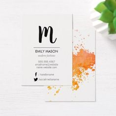 Elegant Chic Texture / Expressive Texutre Business Card - stylist business card business cards cyo stylists customize personalize