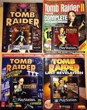 Tomb Raider Complete PS1 Collection - All 5 Games                          | Add to Watch list Seller information johnojones (2462  Feedback score: 2462) 100% Positive Feedback Save this seller See other items Item condition:Good Time left: Time left: 2h 7m 42s (21 Jul, 2015 18:55:17 BST) Current bid:£18.00 [ 7 bids ]   Submit bid  Enter £19.00 or more    Add to Watch list  Postage: £3.00 Economy Delivery Delivery: Estimated by Tue. 28 Jul.