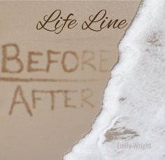 Some crossed lines are clearer upon hindsight. Some define the moment between then and now, before and after. All lines make up the path to tomorrow. Life Lines - Emily Wright Hindsight, Writer, In This Moment, Life, Writers, Authors