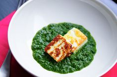 Saag Paneer or Palak Paneer - step by step recipe.  Find it on www.spicedgoodness.com