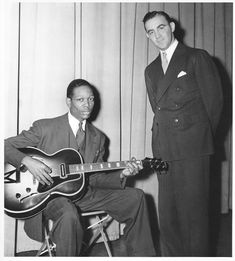 Benny Goodman: The Complete Interview About Charlie Christian | Jas Obrecht Music Archive jasobrecht.com584 × 648画像で検索 Charlie Christian expanded the boundaries of jazz and left us an unsurpassed collection of early electric guitar recordings. A brilliant soloist, Charlie departed Oklahoma City in August 1939 to try out for Charley Christian - Google 検索