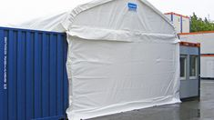 Container shelter 6x6m: Relocated easily - Kroftman.com