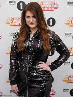 Meghan Trainor at Big Weekend festival... | Daily Mail Online
