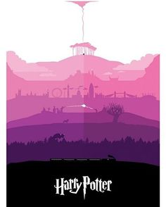 Every #HarryPotter story in one single poster! Fantastic work by Petter Schölander