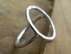 SHOP :: Clothing & Accessories :: Jewellery :: Stirling silver oval battered ring - COUNTRY CULTURE