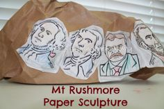 Learning and Growing the Piwi way: George Washington unit & Sculpting Mt Rushmore