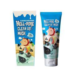 Elizavecca milkypiggy Hell-Pore Clean Up Mask 100ml / 3.38oz #Elizavecca #333korea #skincare #beauty #koreacosmetics #cosmetics #oppacosmetics #cosmetic #koreancosmetics