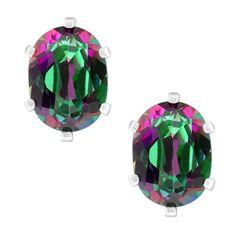 2.90 Ct Oval 8X6mm Mystic Green Topaz 925 Sterling Silver Earrings: http://www.amazon.com/8X6mm-Mystic-Sterling-Silver-Earrings/dp/B004RIX0V2/?tag=greavidesto05-20
