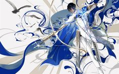 Download wallpapers Archer, manga, art, Fate Grand Order