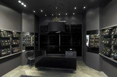 Scandinavian design, jewellery shop