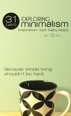 Simple life long term is what I want. Minimalism challenges what you thought you knew about what you wanted in life. Minimalism is about having the space and freedom in your life for what really matters. Konmari, Minimalism Living, Becoming Minimalist, Minimalist Lifestyle, Baby Steps, Less Is More, Keep It Simple, Simple Living, Organization Hacks
