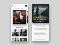 Saved Articles articles app design read adobe xd ui The post Saved Articles articles app design read adobe xd ui appeared first on Design. Ui Design Mobile, App Ui Design, User Interface Design, Design Design, Site Design, Flat Design, Moodboard App, Ui Design Tutorial, App Design Inspiration