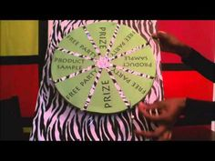 How to Make a Spinning Game Wheel - IT WORKS - YouTube