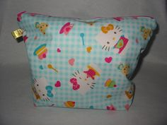 Hello Kitty Project Bag by EatKnitandDye on Etsy