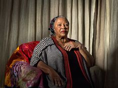 Toni Morrison at her home in Grand View-on-Hudson, N.Y. Credit Katy Grannan for The New York Times