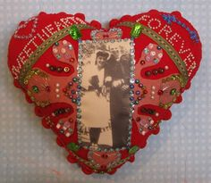 sweetheart pincushion or sailors valentine by Ulla Milbrath