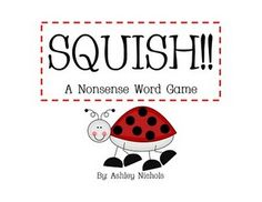 nonsense word practice, good for guided reading groups