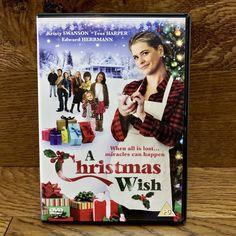A Christmas Wish DVD Film Movie 2012 Kristy Swanson tess harper edward herrmann Christmas Movies, Christmas Wishes, Before Christmas, Kristy Swanson, Dvds For Sale, All Is Lost, Gerard Butler, Screenwriting, Film Movie