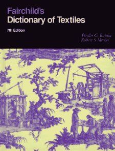 The revised and expanded edition features over 14,000 definitions of fibers, fabrics, laws, and regulations affecting textile materials and processing, inventors of textile technology, and business and trade terms relevant to textiles.
