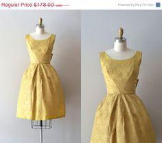 vintage brocade dress