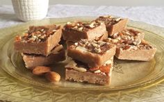 <p>This almond and coconut butter fudge has the perfect melt-in-your-mouth texture.</p>