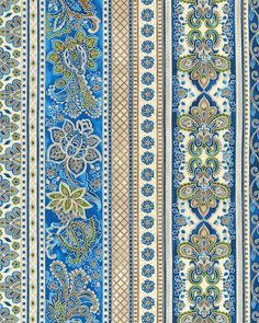 La Scala 7 - Venetian Glass Stripe - Sapphire Blue/Silver