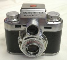 Rare Bolsey Model C 35mm TLR Camera Wollensack 44mm 1:3.2 Anastigmat Lens USA NR #Yashica