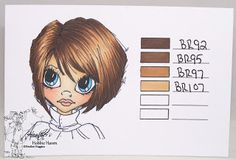 Heather's Hobbie Haven: Hair Color 1, 2 -  ShinHan Markers...