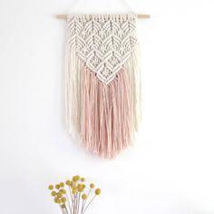 Lace Effect Macrame Wall Hanging
