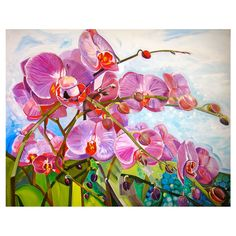 Sue Ross The Orchids. Reminds me of Hawaii...sigh...