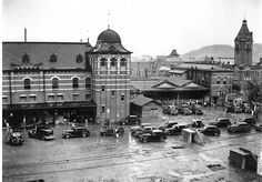 釜山駅 Busan station - Korea (under Japan) 1910-1940