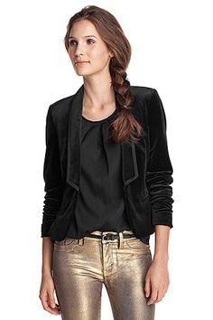 stretch velvet tuxedo COLLECTION - Esprit Online-Shop